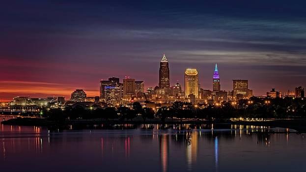 Cleveland Ohio Sunrise by Paul Cimino