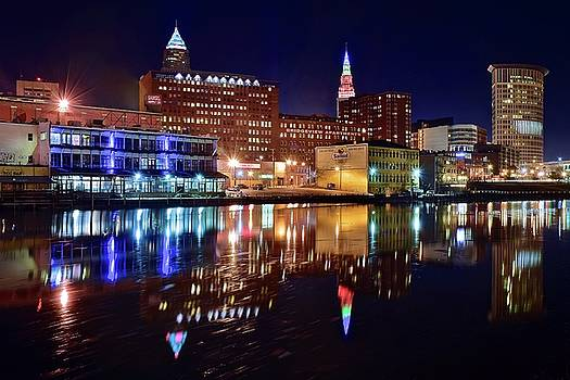 Frozen in Time Fine Art Photography - Cleveland on the River
