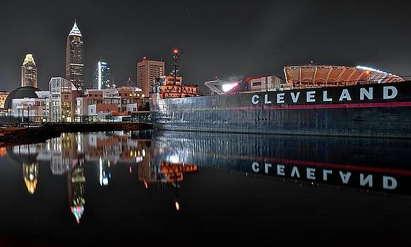 Frozen in Time Fine Art Photography - Cleveland Reflects