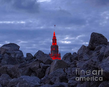 Cleveland Rising from the Rubble  by Mike Bruckman