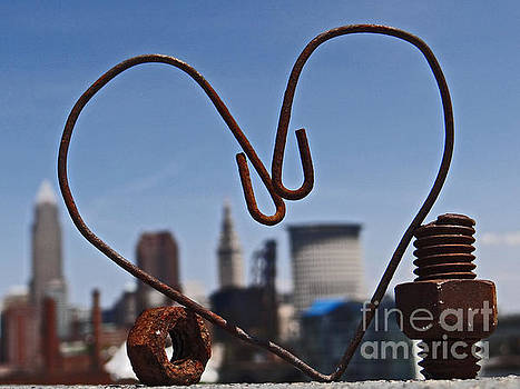Cleveland Rusty Love by Mike Bruckman