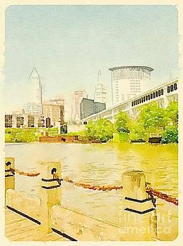 Cleveland Settlers Landing by Janet Dodrill