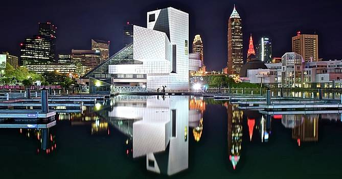 Cleveland Shinning Bright by Frozen in Time Fine Art Photography