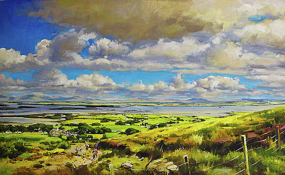 Clew Bay from The foot of Croagh Patrick by Conor McGuire