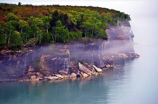 Cliff Fog by SimplyCMB