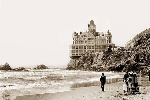 California Views Archives Mr Pat Hathaway Archives - Cliff House from Ocean Beach, San Francisco, California 1905