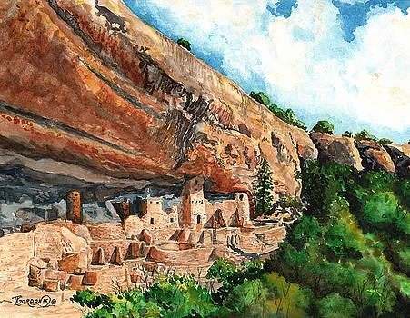 Cliff Palace Mesa Verde by Timithy L Gordon