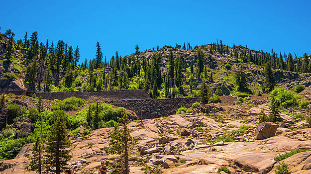 Cliffs Above Donner Lake I by Steven Ainsworth