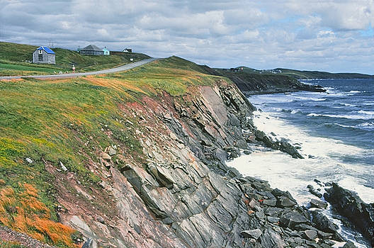 Cliffs Cape Breton Nova Scotia by Andrew Kazmierski