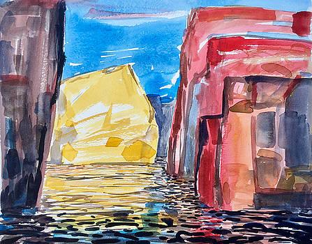 Cliffs Drifting II by Vaughan Davies