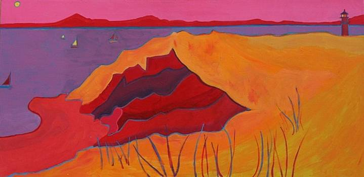 Cliffs of Aquinnah by Debra Bretton Robinson