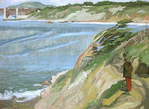 Cliffs of Golden Gate by Zois Shuttie