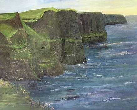 Cliffs of Moher by Audrey Jordan