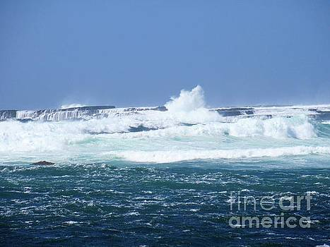 Cliffs of the Aran Islands 2 by Crystal Rosene