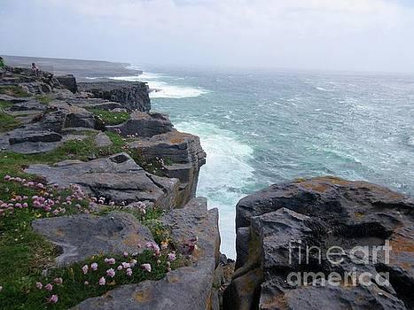 Cliffs of the Aran Islands 4 by Crystal Rosene