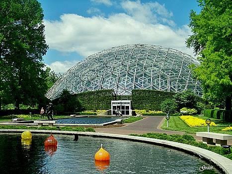 Climatron Dome by Julie Grace