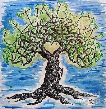 Climb-On Love Tree by Aaron Bombalicki