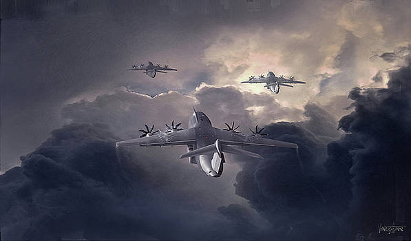 James Vaughan - Climb Out - Airbus M400s