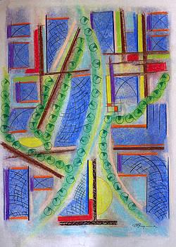 Climbing Ivy Tattered Screens by J R Seymour