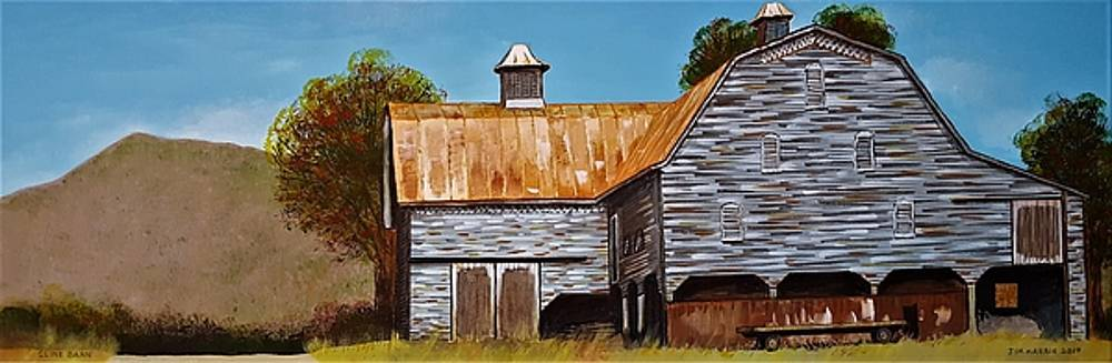 Cline Barn by Jim Harris