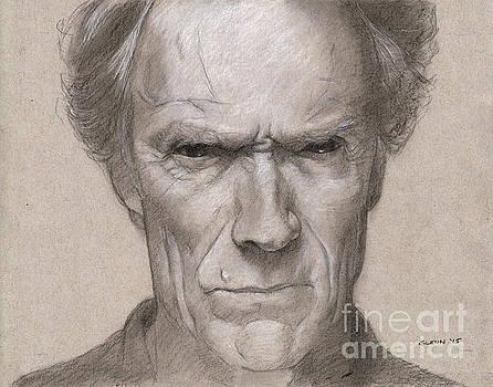 Clint Eastwood 3 by Glenn Daniels