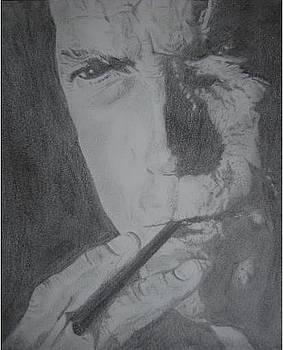 Clint Eastwood by Chris Lambert