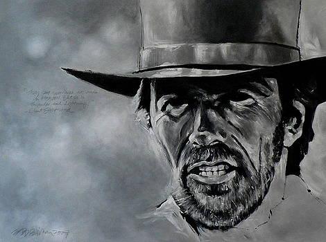 Clint Eastwood by Eddie Lim