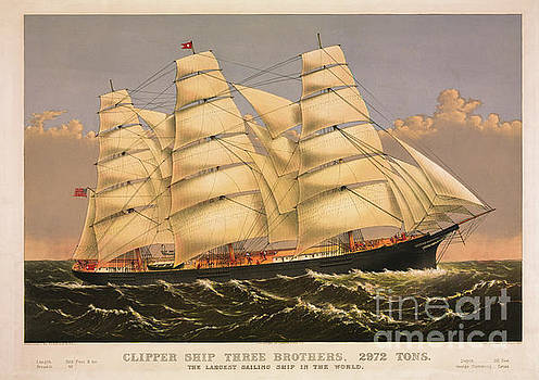 Dale Powell - Clipper Ship Three Brothers