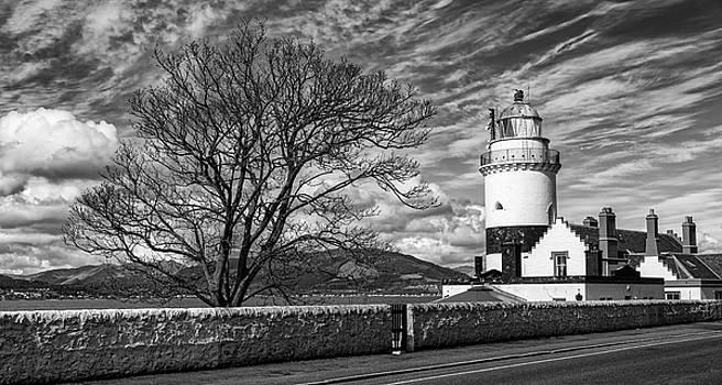 Jeremy Lavender Photography - Cloch Lighthouse at Gourock, Inverclyde
