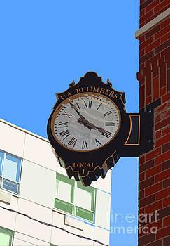 Jost Houk - Clock of UA Plumbers