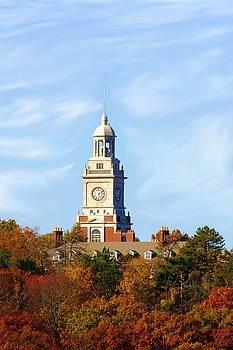 Clock Tower 2 by Jim  Darnall