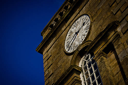 Clock tower by Alex Leonard