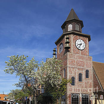 Clock Tower Solvang by Shishir Sathe