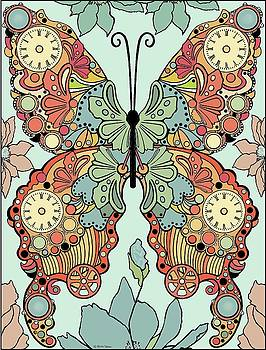 Clockwork Butterfly by Melodye Whitaker