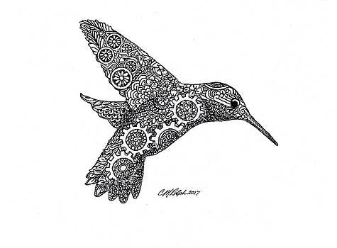 Clockwork Hummingbird by CM Ralph