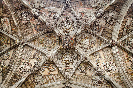 RicardMN Photography - Cloister vault in Leon Cathedral