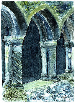 Cloisters by Anne Marie ODriscoll