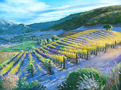 Clos La Chance Vineyard by Lorna Saiki
