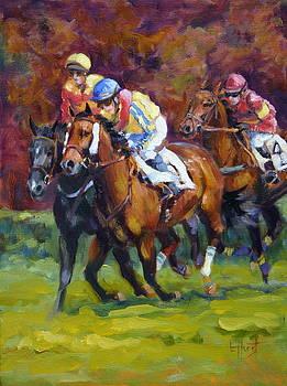 Close Race by Elaine Hurst