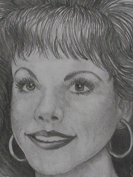 Anne-Elizabeth Whiteway - close up of sketch of me
