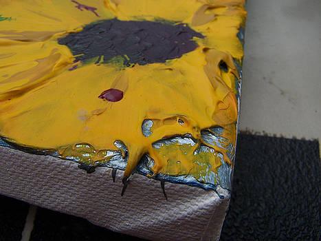 Close up of The Acid Rain Falls by Nino  B