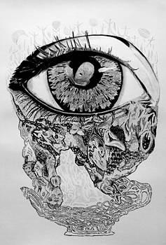 Closed Eye by Rene  Kier