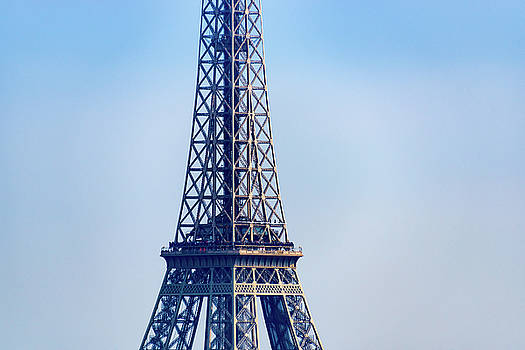 Closeup of the Eiffel Tower by Dutourdumonde Photography