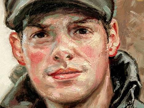 Closeup- Portrait of Jason by Larry Seiler