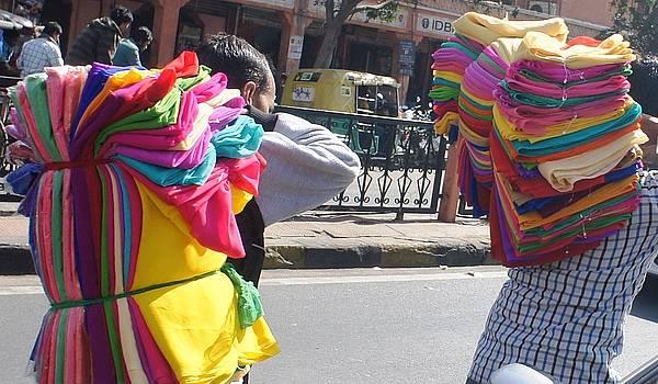 Cloth Merchants by Baljit Chadha