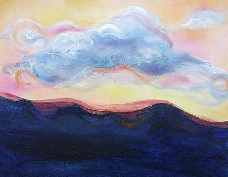 Suzanne  Marie Leclair - Cloud at Sunset