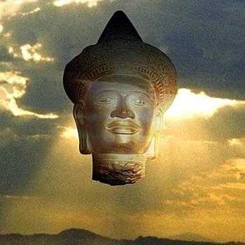Cloud Budda by Richard Nodine