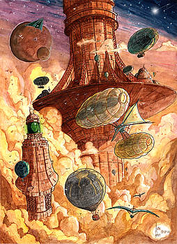 Cloud City by Luis Peres