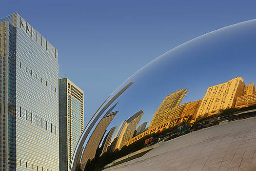 Nikolyn McDonald - Cloud Gate - Reflection - Chicago