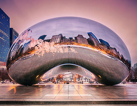 Cloud Gate by Zouhair Lhaloui